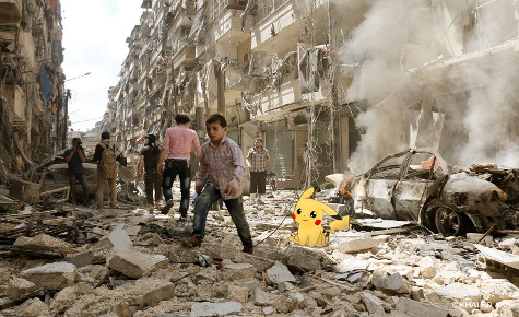 Siria Pokemon Go